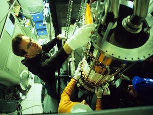 Investigadores portugueses realizam experiência bem posicionada na corrida ao Nobel da Física Foto: DR