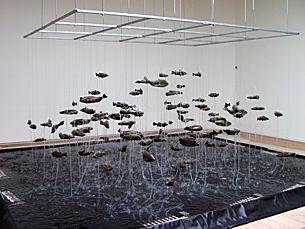 Fonte dos Cem Peixes é uma das atracções de Serralves Foto: Sara Otto Coelho