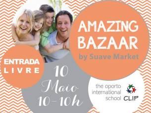 Moda, decoração e música vão estar presentes no Amazing Bazaar, no dia 10 de maio Foto: DR