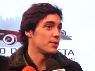 lvaro Parente é o primeiro patrono do Circuito 2009 Foto: Liliana Lopes