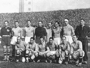Seleção Italiana que venceu em casa o campeonato do Mundo de 1934. Foto: Daniel Brown Mansilla/Flickr