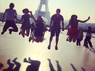 A hashtag #eiffeltower conta com quase um milhão de fotografias no Instagram Foto: @roxypepin