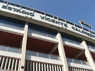 O estádio Vicente Calderón em Madrid recebeu o jogo da 1.ª mão Foto: Sam Kelly /  Flickr