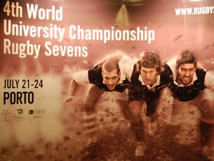 O Mundial Universitário de Rugby Sevens acontece pela primeira vez no Porto Foto: Jorge Ferreira