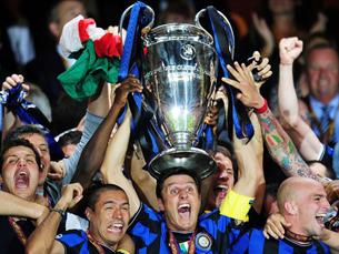 O Inter de Milão conquista a terceira Taça dos Campeões Europeus da sua história Foto: UEFA
