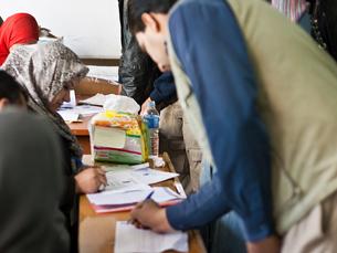 Apesar da sucessão de ataques bombistas, 50% da população iraquiana foi a votos Foto: Haider Noman Ibraheem /  Flickr