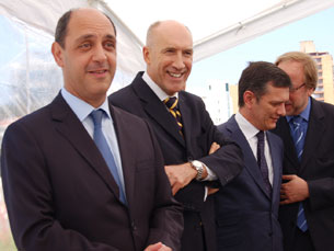 Manuel Pizarro inaugurou o CMIN, no Porto Foto: Sandra Gomes