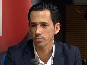Pedro Proença, de 41 anos, tem já 59 jogos europeus, 24 anos de carreira e 9 épocas de estatuto internacional. Foto: RTP / Flickr