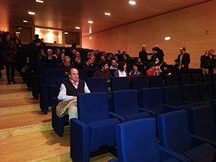 """Se o tempo não ajudar, as sessões do """"Cinema no Museu"""" vão ser no auditório do MNSR Foto: Fábio Silva"""