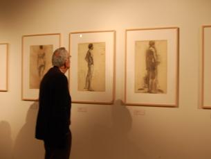 Os visitantes podem ver trabalhos de artistas de renome nacional e internacional. Foto: Vera Quintas