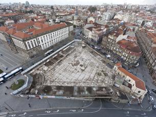 A Praça de Lisboa estava devoluta há vários anos Foto: Filipe Paiva