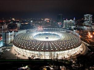 A 1 de julho de 2012, o estádio Olímpico de Kiev será o palco da final do Euro 2012 Foto: Rafizeldi/Flickr