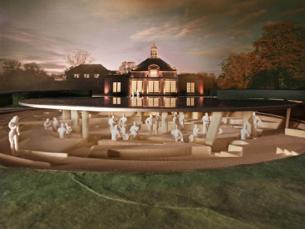 A cortiça vai ser o material fundamental do pavilhão de verão da Serpentine Gallery, em Londres Foto: DR
