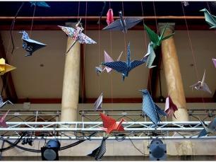 O origami é considerado uma arte que, além de passatempo, está também associado à saúde Foto: M. Martin Vincent/Flickr