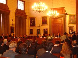 """Reitor destacou """"expansão da cultura científica na Universidade do Porto"""" Foto: Carla Camarinha"""