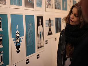 A exposição contou com a participação de vários DJs e showcases Foto: Inês Graça