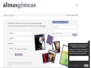 Almas Gémeas permite o encontro entre utilizadores que têm gostos semelhantes Foto: DR