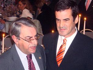lvaro Braga Júnior e Rui Moreira apadrinharam evento Foto: Patrícia Martins