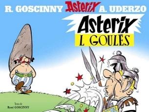 A banda desenhada Astérix tem livros traduzidos para mirandês. Foto. DR