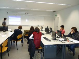Os alunos reconhecem a vantagem de colaborar nos projectos de investigação Foto: DR