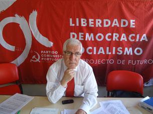 A situação económica complicada que vivemos é culpa dos partidos que formaram Governo, diz Honório Novo Foto. Felisbela Teixeira