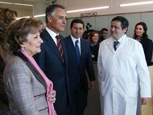 Cavaco apelou à calma dos utentes dos serviços de saúde Foto: Inês Figueiras