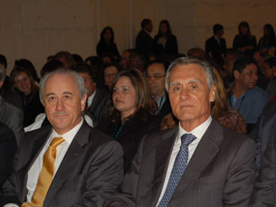 Cavaco Silva esteve no Congresso Empreendedor Lusófono e destacou a importância dos jovens Foto: Ana Rita Silva