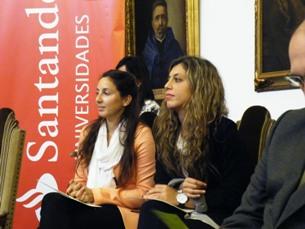 As duas estudantes da mobilidade entre o Porto e a América do Sul falaram sobre as suas experiências Foto: Francisca Paiva