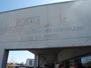 O novo recinto desportivo recebeu o nome de Luís Falcão, um antigo atleta e professor do CDUP Foto: Diogo Hoffbauer