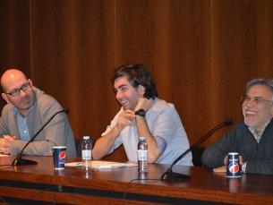 A sala encheu para ouvir os dois jornalistas e o psiquiatra Foto: Rosa Clemente