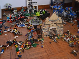 Lego: um brinquedo que também é para adultos Foto: Sara Silva