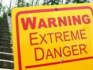 O aviso não está lá, mas a dark web não é mesmo para qualquer um Foto: paul.klintworth/Flickr