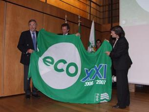 """Maia recebe Prémio """"Eco XXI"""" pelo segundo ano consecutivo. Foto: Câmara Municipal da Maia"""