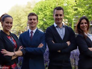 Inês Oliveira, André Pinto, Benjamin Maitre e Marta Faria são os mentores deste projeto Foto: DR
