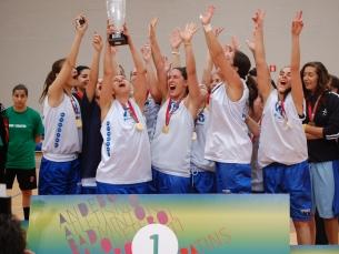 A equipa do IPP voltou a vencer o campeonato de Basquetebol Foto: Jorge Fereira