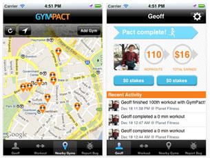 O GymPact já tem 1500 inscritos, ainda antes do lançamento oficial Foto: DR