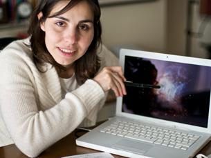 Joana Ascenso acredita que o projecto do AIA2009 continuará a dar frutos no tempo Foto: Rodrigo Martins