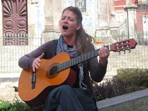 Susana espera por uma oportunidade na carreira na música Foto: André Gonçalves