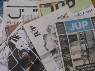 Para comemorar o aniversário, o JUP pretende fazer uma exposição com algumas das capas mais emblemáticas do jornal Foto: José Pedro Ribeiro