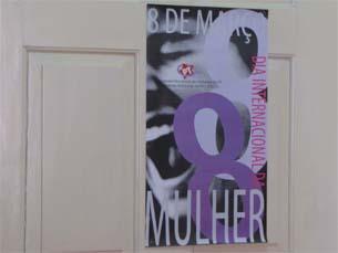 São várias as ações de sensibilização que decorrem hoje em celebração do Dia da Mulher Foto: Daniela Neto