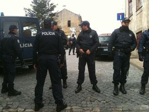 A Es.Col.A da Fontinha recebeu uma intervenção policial Foto: Marta Portocarrero