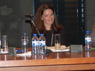 Joana Cardoso, presente na sessão de encerramento, elogiou a iniciativa Portugal Criativo@Porto 2010 Foto: Jorge Ferreira