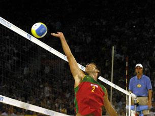 Maia e Brenha não vão poder repetir os feitos de Olimpíadas anteriores Foto: Federação Portuguesa de Voleibol