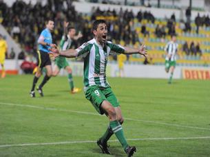 João Tomás foi o português com mais golos marcados, apesar dos 36 anos Foto: DR