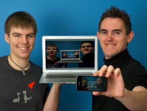Nova rede social permite a partilha de vídeos em direto Foto: DR