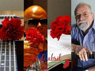 Rui, José, Manuel não imaginam a expressão sem a intervenção. Para Pedro, ser livre é uma questão de todos os dias Foto: Afonso Ré Lau