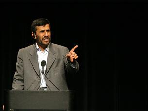 O presidente iraniano fez discurso polémico na abertura da conferência Foto: Daniella Zalcman / Flickr
