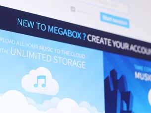 Megabox pode destronar a indústria musical Foto: DR