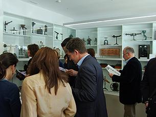 O museu  da Faculdade de Farmácia da UP alberga objetos de produção científica e artística Foto: Fábio Silva