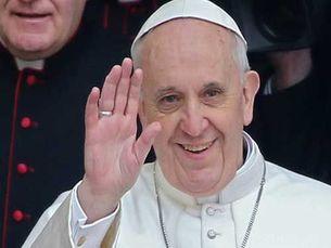 Papa Francisco completa um ano de pontificado e coleciona elogios por parte da comunidade católica e não só Foto: DR